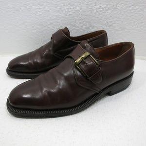 Gasuggio & Scalera Monk Leather Oxfords 7 M